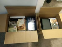 2 Boxes of Books..Moving sell Sandy Springs