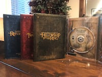 Lord of the Rings Trilogy DVD Box Set Los Gatos