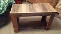 Barn Wood Media Table
