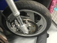 Complete Front Forks / Tire/ Rim 2009 M90 TORONTO