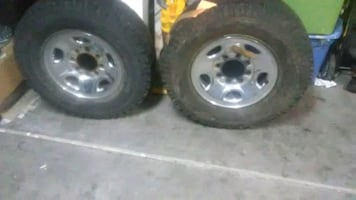 BFGoodrich wheels and rims