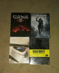 Video game strategy guides. All for 4 for 20 McDonough