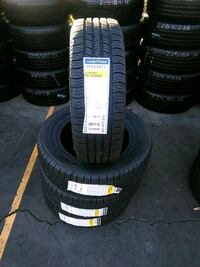 Set de llantas new 195/65/15 Goodyear  Long Beach, 90810