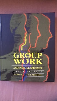 Book - group work a counselling specialty