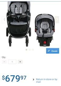 Graco stroller 3 in 1. Brand new Toronto, M6E 1V7