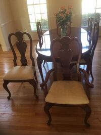 American Drew Cherry Grove dining set and china cabinet