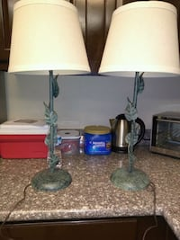 Vine and Leaf Lamps