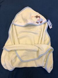 New baby bath towel/ serviette de bain bebe