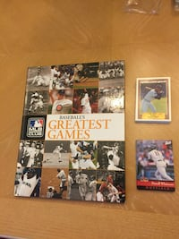 Baseball's Greatest Games MLB Insiders Club Book and 2 Packs Baseball Cards Lakeland, 33810