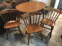 Table with 3 matching chairs Tulsa, 74112