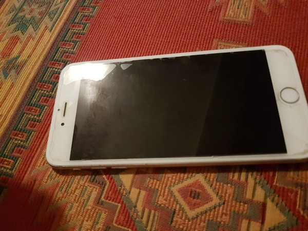 Silver iPhone 6s plus 128GB
