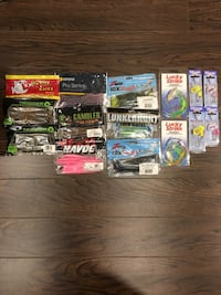 Fishing Lures Bradford West Gwillimbury, L3Z 0B8