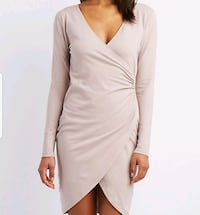 Bodycon dress with front slit Loudoun County