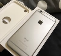 Silver iphone 6s with box Skelmersdale, WN8 6PW