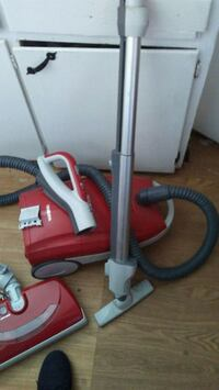 red and gray canister vacuum cleaner Huntington Park, 90255