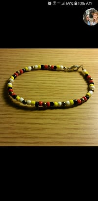 beaded white, red, and yellow necklace screenshot Deltona, 32725