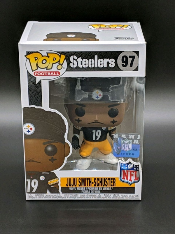 f12a5f261e6 Used Pittsburgh Steelers JuJu Smith- Schuster Pop 97 for sale in Santa  Clara - letgo