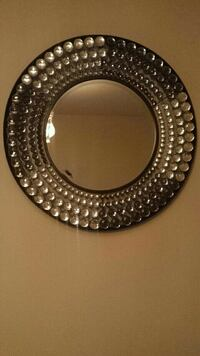 round silver-colored framed mirror Toronto, M3A 2G6