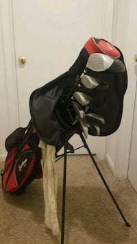 black and red golf bag Columbia, 29223
