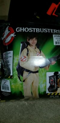 Childrens Ghostbusters Costume Small HALLOWEEN  Calgary, T1Y 5N8