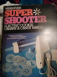 Wear-Ever Super Shooter electric cookie canape and candy maker box Augusta, 30906