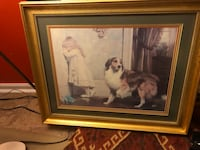 Framed print -A Special Pleader, Charles Burton Barber Perry Hall, 21128