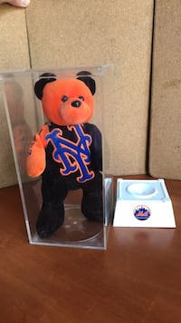 mets beanie baby and  baseball stand/ holder Stormville, 12582
