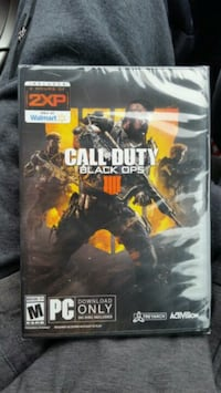 Call of Duty Black Ops 4 PC (factory sealed) Mount Pleasant, 48858