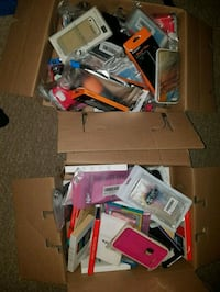 2 boxes of new phone cases Kitchener, N2C 1S8
