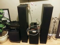 Custom HOME THEATER/ STEREO SURROUND SYSTEM