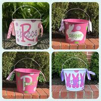 Personalized 5QT Easter Buckets Memphis, 38120