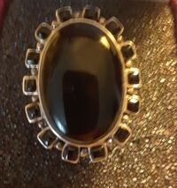 925 Sterling Silver and Black Onyx Ring.  Willoughby Hills, 44092