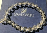 Brand New clear crystal 1 size fits all bracelet New York, 10021