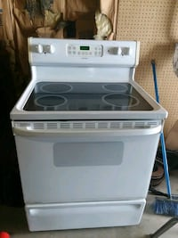 white and black induction range oven Middletown, 45044