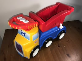 Little Tikes Handle Haulers Haul And Ride Truck Ride On, Walker, Wagon