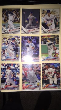Baseball player trading card collection Depew, 14043
