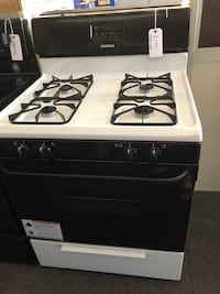 white and black gas range oven Citrus Heights, 95621