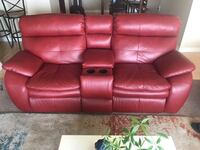 red leather 3-seat recliner sofa Slidell, 70461