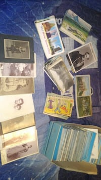 Large post card collection Belton