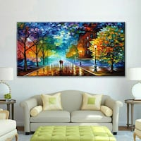 Abstract Modern Framed Wall Art painting Print Can Las Vegas, 89148
