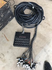 Used and working 125 ft Rapco Snake