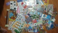 Over 75 Sheets of Assorted Stickers Sheets    Woodstock, N4S 4L1
