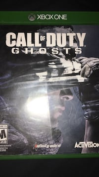 Call of Duty Ghosts Xbox 360 game case Wilmot, N3A