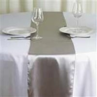 Satin table runners - Wide variety of colors