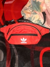 Adidas red FannyPack Mission, 78573