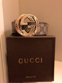 brown Gucci leather belt with box Stephens City, 22655