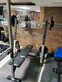 Olympic Weight Bench Combo