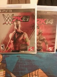 WWE2K15 And 14 PS3
