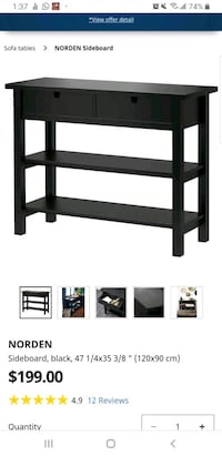 IKEA Office shelving unit with drawers Toronto, M2M 4M7