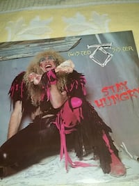 Twisted Sister Stay Hungry Vinyl Montréal, H3M 2Y4